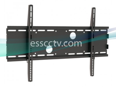 LCD/Plasma TV Mount 30-63 in 165 lbs no tilt, Black Mount
