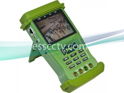 Multi-Function 3.5 inch LCD - CCTV camera, UTP cable, PTZ tester, 1000mA power out