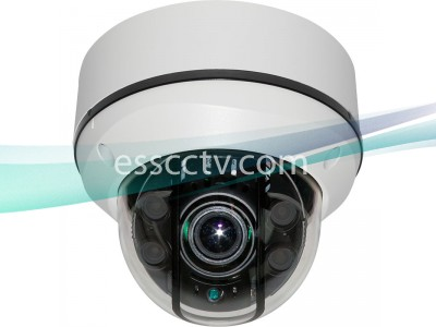 HD-SDI Outdoor Dome Camera: Full HD 1080p 2 Megapixel image, 4 High-Power LED, Anti-IR reflection