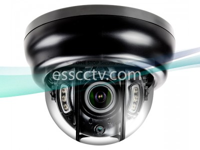NID-D3642V 3.2MP Anti-IR Reflection Indoor IR Dome IP Camera with 2.8~12mm VF Lens & 6 COB IR