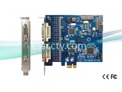 GENUINE GEOVISION DVR card 16ch Video Inputs, 240 FPS, PCI-E, v8.5 software, 64 bit Windows 7 support