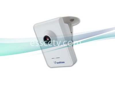 GEOVISION 1.3 Mega-Pixel IP Camera, H.264 Cube, Built-in Microphone and Speaker, Active Tampering Alarm