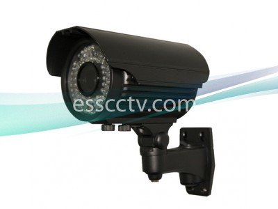 700 TVL Outdoor Bullet IR Camera, 2.8~12mm Long-Range, 72 LED 180 FT, SONY EFFIO DSP, EX-VIEW, DNR
