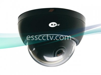 KT&C Outdoor Dome Camera, 700 TVL 960H EX-View CCD, Mini Size, 2-DNR, IP66