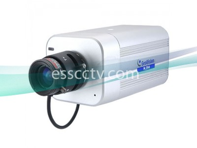 GEOVISION 1.3 Mega-Pixel Box IP Camera, H.264, Microphone, ICR True Day/Night, PoE, 3G Phone Support, with Lens