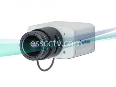 GEOVISION 1.3 Mega-Pixel Box IP Camera, H.264, Microphone, ICR True Day/Night, PoE, 3G Phone Support, 0.15 Low Lux
