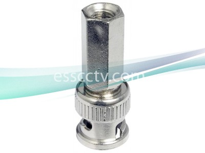 BNC video cable connector: RG59 to 1 BNC Male, Twist-On Type