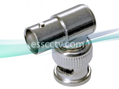 1 BNC Male to 1 BNC Female L Type Connector