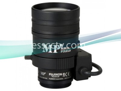 FUJINON Megapixel Lens - YV3.3x15SA-SA2: 15~50mm 3.3x Zoom, 3 MP support, Auto-Iris, Built-In ND Filter