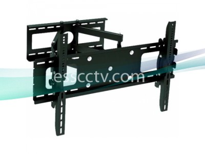 "Wall Mount Bracket for flat panel LCD / Plasma TV Max 165Lbs, 30"" - 63"", Black Color"