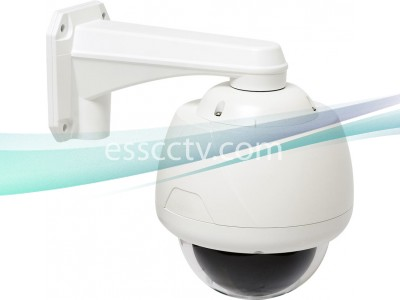 Eyemax Outdoor 550 TVL 37x Optical Zoom PTZ Camera, WDR, ICR True Day/Night, Small-size, Mount INCLUDED