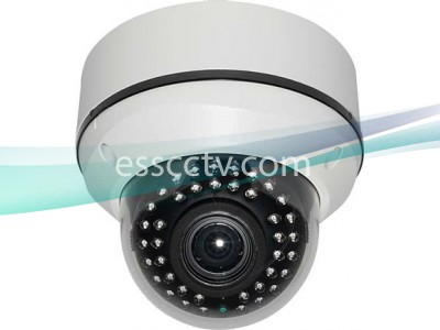 HD-SDI Outdoor Dome IR camera: 2 Megapixel Full HD 1080p image, 2.8~12mm Lens, 40 IR LED
