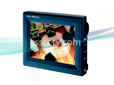 KT&C TFT LCD monitor: 5.6 inch screen, 960x234 resolution, NTSC/PAL support