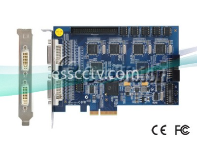 GENUINE GEOVISION 16ch DVR combo card, Live DSP 480 FPS, v8.5 software, 64 bit Windows 7 support