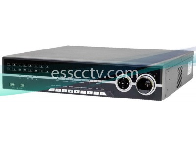HD-SDI Hybrid DVR system, 16ch 1080p 480 FPS record, auto-detect analog / HD-SDI input, HDMI out