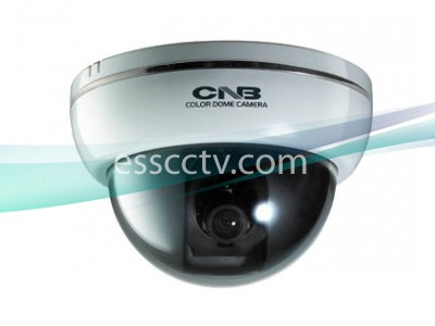 CNB DFL-20S 600 TVL MONALISA DSP Indoor White Color Dome Camera, DNR