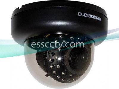 Eyemax ID-5635V Super-Dome IR 560 TVL Indoor Color Camera, 35 IR LEDs
