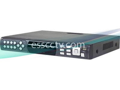 Economic Entry-Level DVR: 8ch 240 FPS Real-time Record, support Smart Phones