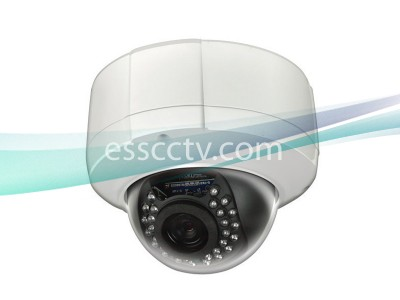 LTS V-Series IP Network Camera, HD 2 Megapixel Outdoor Dome, 3.3~12mm