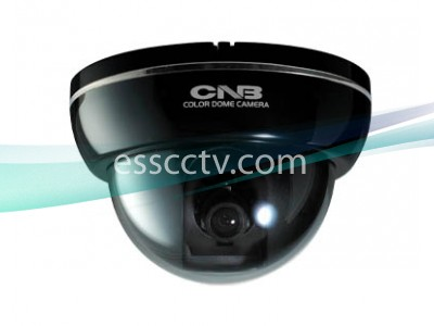 CNB Indoor Dome Camera, 700 TVL 960H CCD, D-WDR, Black or White case