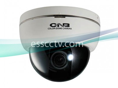 CNB Indoor Dome Camera, 700 TVL 960H CCD, ICR True Day/Night, Adjustable Lens, Dual Power