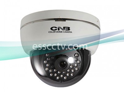 CNB Indoor Dome Camera, 700 TVL 960H CCD, 29 IR LED, D-WDR, DNR