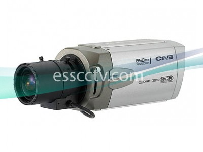 CNB Box Camera, 700 TVL 960H CCD, Double Scan True WDR, DNR, Dual Power