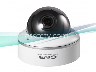 CNB Vandal-Resistant Dome Camera, 700 TVL 960H CCD, D-WDR, Adjustable Lens, DUAL power