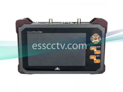Portable HD-SDI test monitor: 7 inch screen, HDMI, VGA input, DC power out