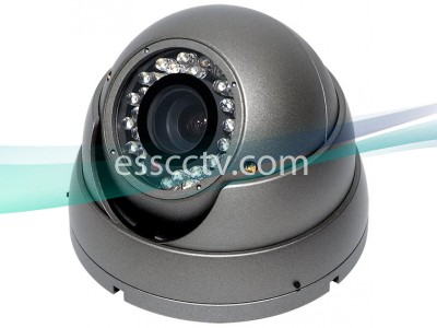 EYEMAX Outdoor Dome IR Camera EFFIO DSP, 700 TVL 960H, 35 SMART IR, Dual Power