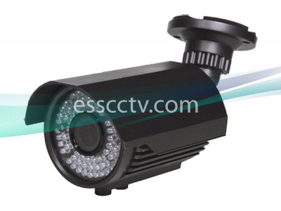 1.3 Megapixel 1000 TVL 720p Bullet IR Camera, 42 IR LED, 2.8~12mm Lens, OSD