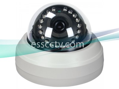HD-SDI Indoor dome IR security camera, 1080p 2 Megapixel,  4.3mm, 20 IR LED