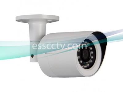 XIR-1202-W HD-SDI outdoor bullet IR security camera, 2 MP 1080p, 3.6mm Megapixel Lens, 24 IR LED