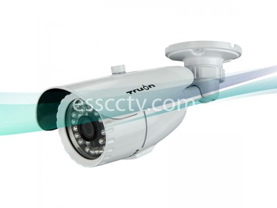 HD-CVI outdoor bullet IR camera, HD 720p Image, 30 IR, True Day/Night ICR