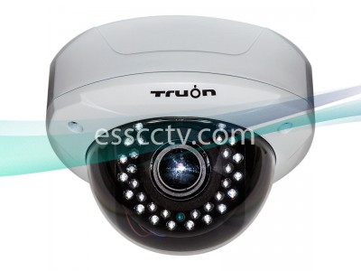 HD-CVI outdoor dome IR camera, HD 720p Image, 30 IR, True Day/Night ICR, 2.8-12mm Lens