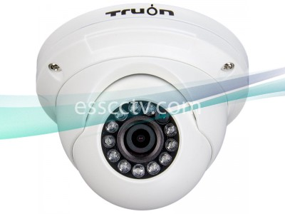 HD-CVI outdoor turret dome IR camera, HD 720p Image, 12 IR, True Day/Night ICR