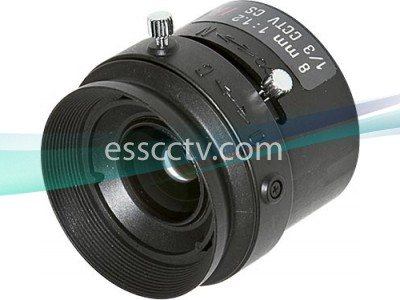Tamron Lens 8mm IR Corrected Manual Iris Vari-focal Lens