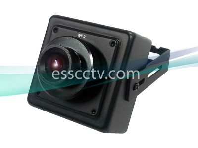 KT&C KPC-EW38NU Miniature Square Camera, 750 TVL 960H, Double Scan WDR, 3D DNR