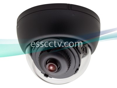 KT&C KPC-DS81NU Indoor Dome Camera, 700 TVL 960H EX-View II CCD, 3.6mm, 3-Axis