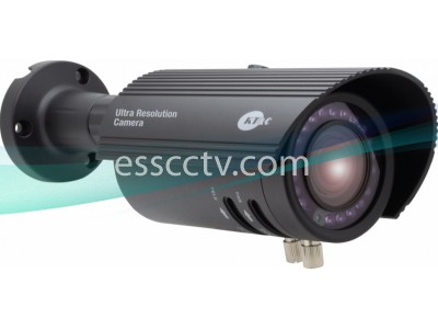 KT&C KPC-IRBULLET30 Outdoor Bullet IR Camera, 960H 750 TVL, True Day/Night, 20 LED, 2.8-12mm