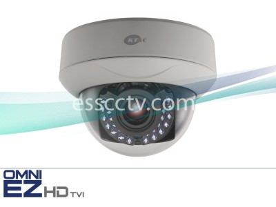 KT&C KEZ-c1DI28V12IR OMNI EZ HD-TVI Camera 720p Dome, 24 IR LED, 2.8-12mm