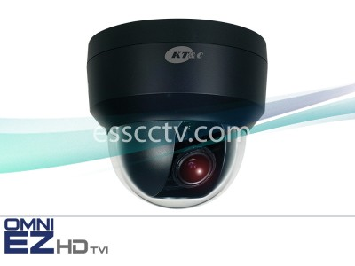 KT&C KEZ-C2DI28V12B OMNI EZ HD-TVI Camera Full HD 1080p Dome, 2.8-12mm, Dual Power
