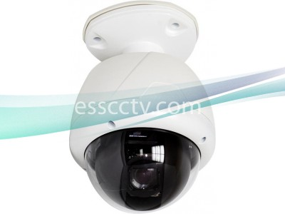 Eyemax Indoor/Outdoor 550 TVL 27x Optical Zoom PTZ Camera, ICR True Day/Night, Small-size, Mount INCLUDED
