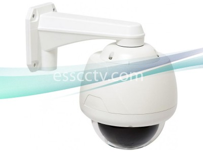 Eyemax Indoor/Outdoor 550 TVL 33x Optical Zoom PTZ Camera, ICR True Day/Night, Small-size, Mount INCLUDED