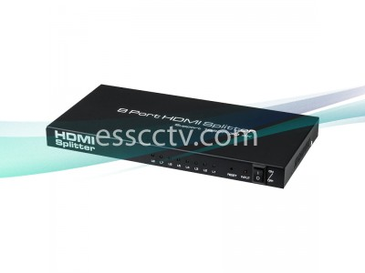 HDMI 1 in 8 out Splitter, Support 4K 2K Full HD, Remote, Power Adpater INCLUDED
