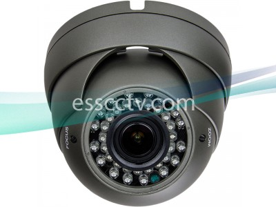 AHD Analog HD Outdoor Eyeball Dome Camera, A-HD 720p Megapixel, 2.8-12mm, 36 IR LED