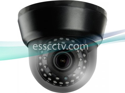 AID-B132V AHD Analog HD Indoor Dome Camera, A-HD 720p Megapixel, 35 Smart IR LED, 2.8-12mm