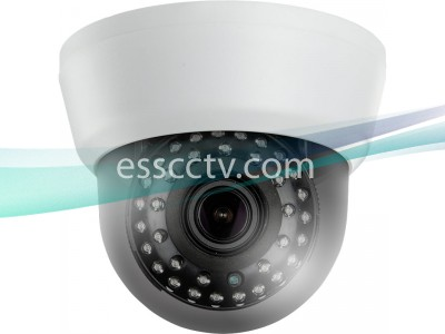 TID-132V HD-TVI 2MP 1080p Indoor Dome Camera, 2.8-12mm Megapixel Lens, 35 IR LED