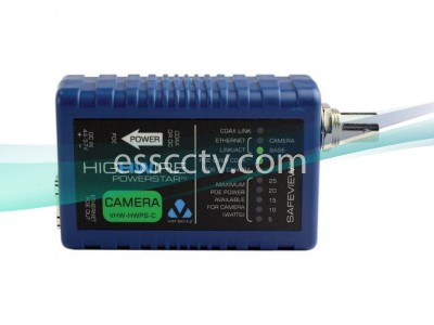 VERACITY VHW-HWPS-C HIGHWIRE POWERSTAR, Ethernet, POE extender over coax video cable, Camera side