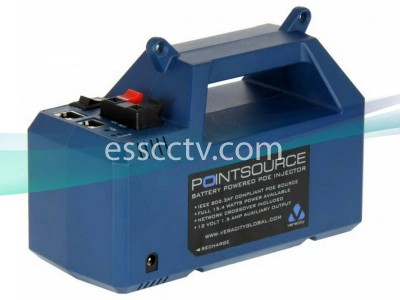 VERACITY VAD-PS POINTSOURCE Portable POE Injector for IP cameras, Rechargeable Battery